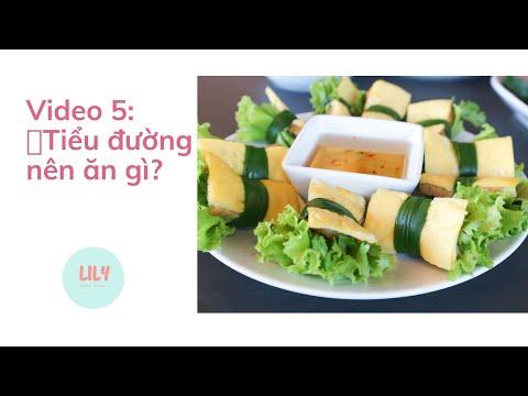 Video 5: Thực đơn dinh dưỡng cho Mẹ Bầu Tiểu Đường Thai Kỳ