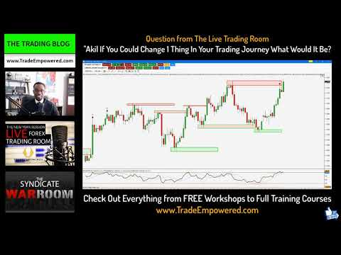 FOREX TRADING BLOG 99 -- The Only Trading Mistake I Didn't Make Was...