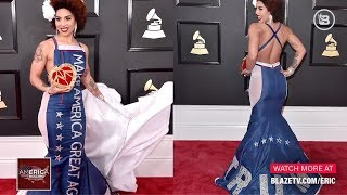 Designer of MAGA Dress that SHOCKED the Red Carpet Speaks Out