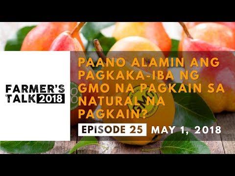 Farmer's Talk: Paano Alamin Ang Pagkaka-iba ng GMO na Pagkain sa Natural na Pagkain?