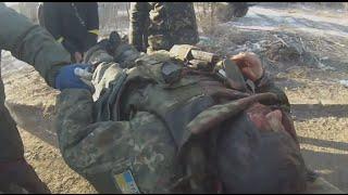 Жесть! Выход из Дебальцево. Поселок Мироновский. Батальон Донбасс