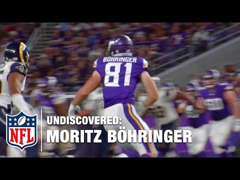 Moritz Böhringer with the Minnesota Vikings | NFL Undiscovered
