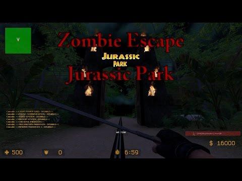 Counter-Strike: Source - Zombie Escape - Jurassic Park