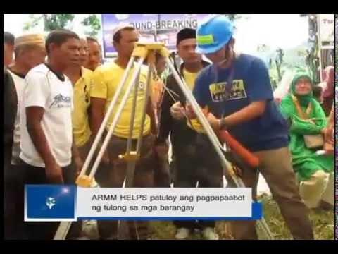 ARMM HELPS patuloy ang pagpapaabot ng tulong sa mga barangay