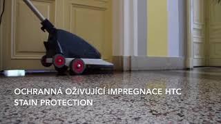 Renovace teracových podlah - Úřad vlády ČR