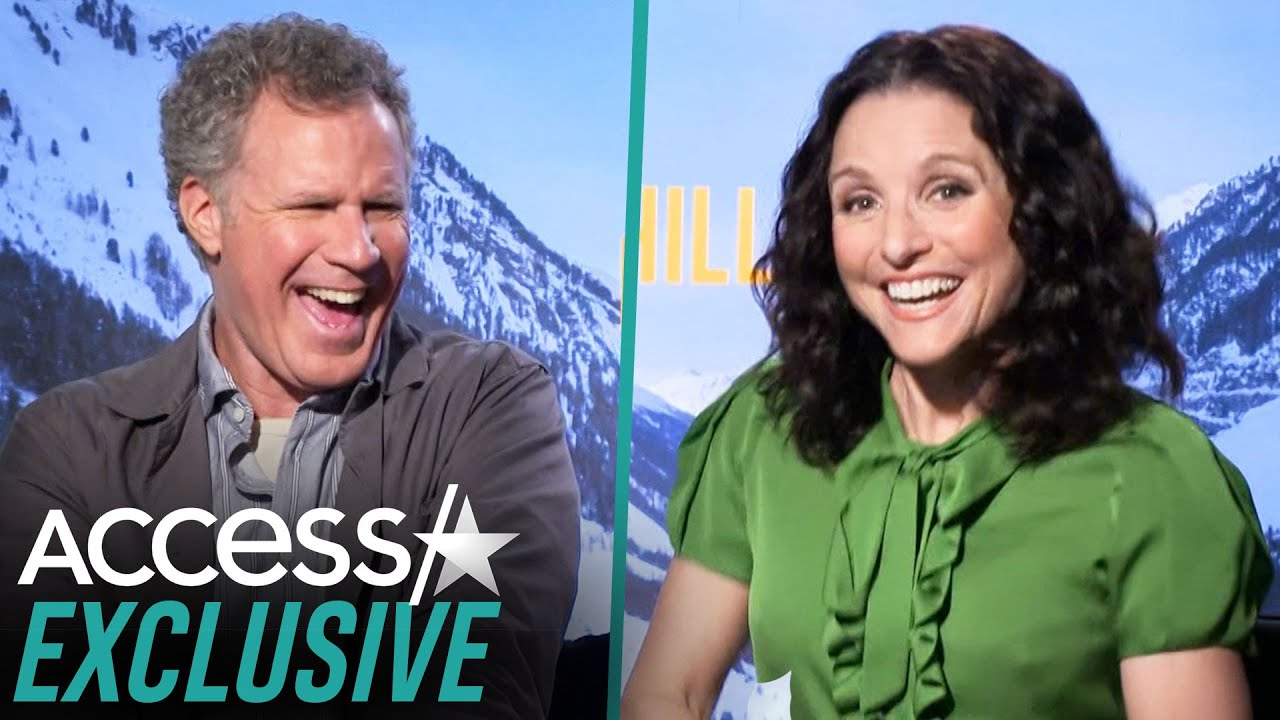 Julia Louis-Dreyfus Playfully Roasts Will Ferrell's Movie Husband Skills