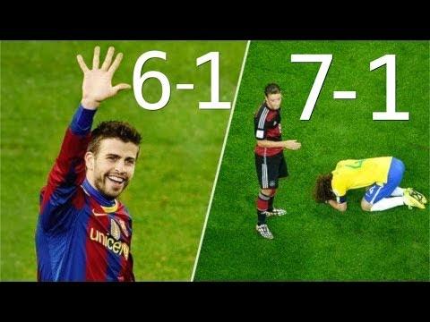 Футбольные матчи которые мир никогда не забудет