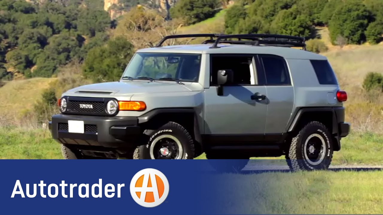 2013 Toyota Fj Cruiser Suv New Car Review Autotrader Youtube