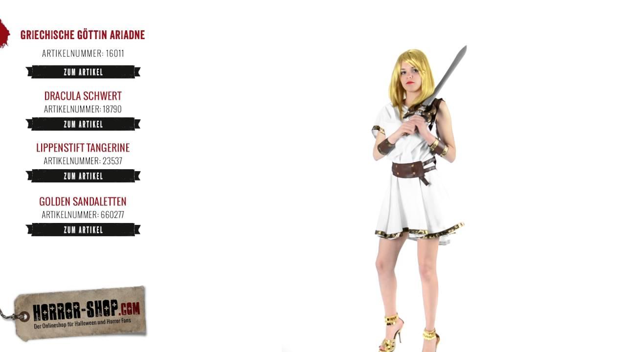 Griechische Göttin Ariadne Fasching Kostüm - Horror-Shop.com