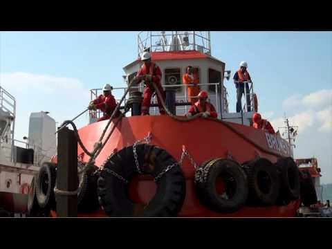 Loading of Tugboats in Singapore Part 2, with spectacular Aerial shots by Studio 8 Pte Ltd.