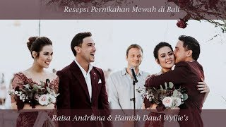 Raisa - Usai Di Sini (Cover by Desmond Amos) - Resepsi Baper Raisa Hamish di Bali