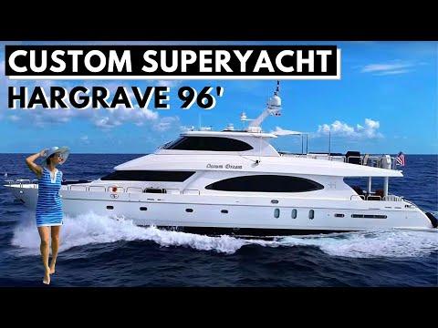 "2005 HARGRAVE 96 ""OSSUM DREAM"" Custom SuperYacht Tour 2017 Refit Liveaboard Charter"