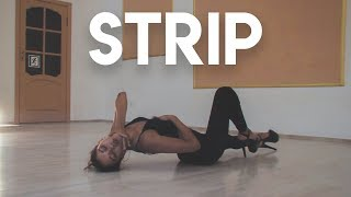 �������� ���� STRIP (Юлия Ланкина) | Студия танцев YES! | Саратов 2018 ������
