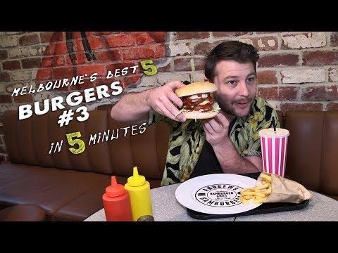 Melbourne's Five Best Burgers III In Five Minutes With Tim Hewitt