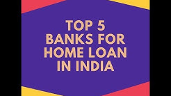 Top 5 Home Loan Banks in India | Call Us- | Interest Rate, Eligibility Criteria, EMI
