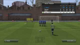 Como Cobrar Tiros Libres FIFA 14,Tutorial corta distancia y media distancia Facil