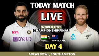 IND VS NZ TEST || DAY 4 LIVE  || India Vs New Zealand WTC FINAL MATCH TEST DAY 4