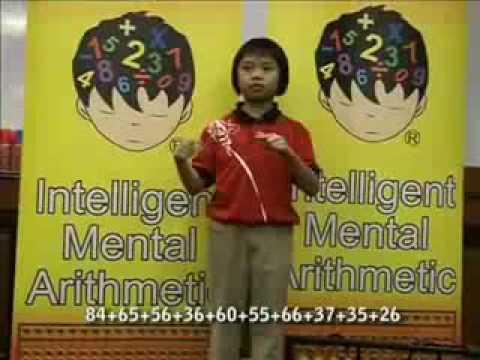 The Benefits of Intelligent Mental-Arithmeitc(IMA) Programme