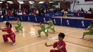 佛教林炳炎紀念學校初級南拳A隊亞軍~小學組 (第一屆香港華夏