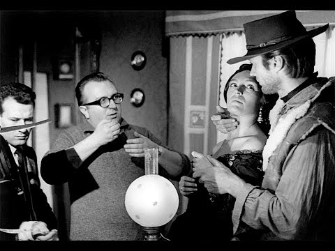 Sergio Leone on choosing Clint Eastwood for A Fistful of Dollars 1964