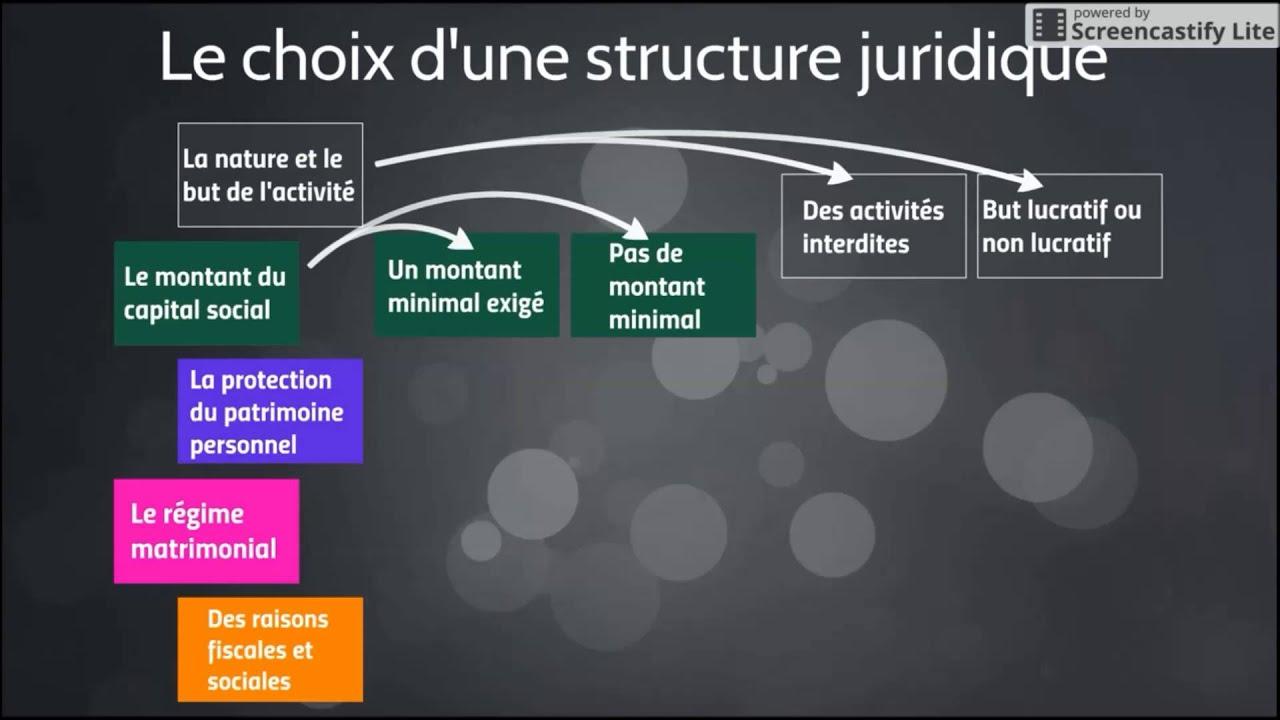 le statut juridique de l'entreprise Dissertation - Texte Argumentatif Exemple - La These