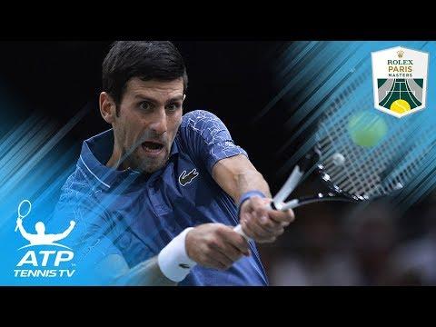Djokovic & Cilic Cruise; Raonic ousts Tsonga | Paris 2018 Highlights Day 2