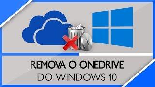 windows 10 como remover o onedrive de seu computador