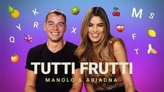 ¡Hora de jugar Tutti Frutti con Manolo Gonzalez Vergara y Ariadna Gutierrez!