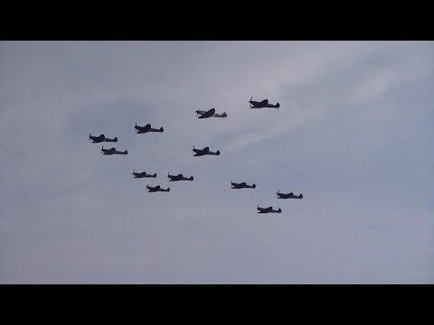 Duxford Battle of Britain Air Show 2017 (Sunday): Supermarine Spitfires