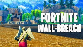 Fortnite Battle Royale Glitches: Under The Map Wall-Breach Glitch! Working Fornite Glitches 2018