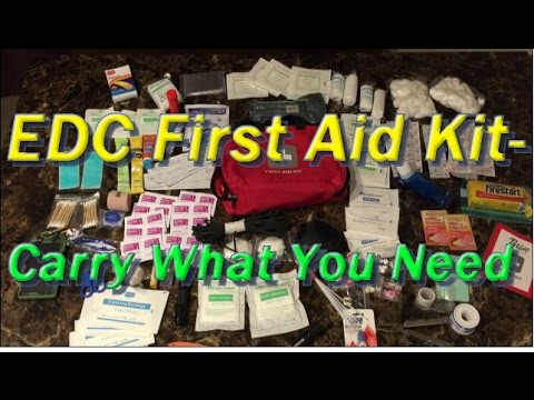 EDC First Aid Kit-What I Carry on Outings-Urban NorthWest