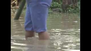 Afectados por inundación piden ayuda, en Los Vergeles de Jipijapa