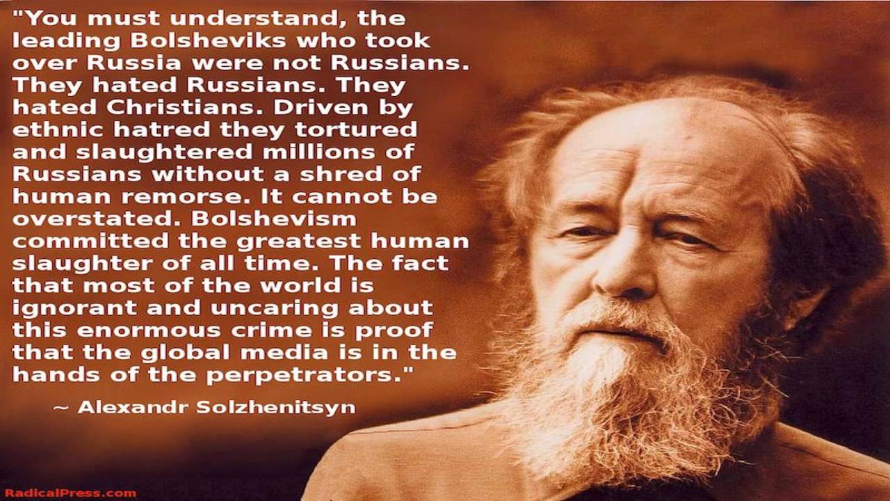 Image result for solzhenitsyn what you must understand