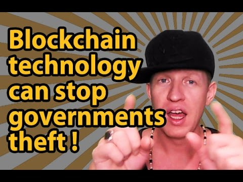 Bitcoin and Blockchain technology can stop governments theft from its people !