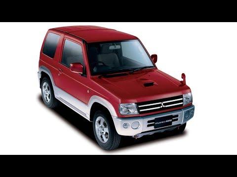Mitsubishi Pajero Mini,обзор