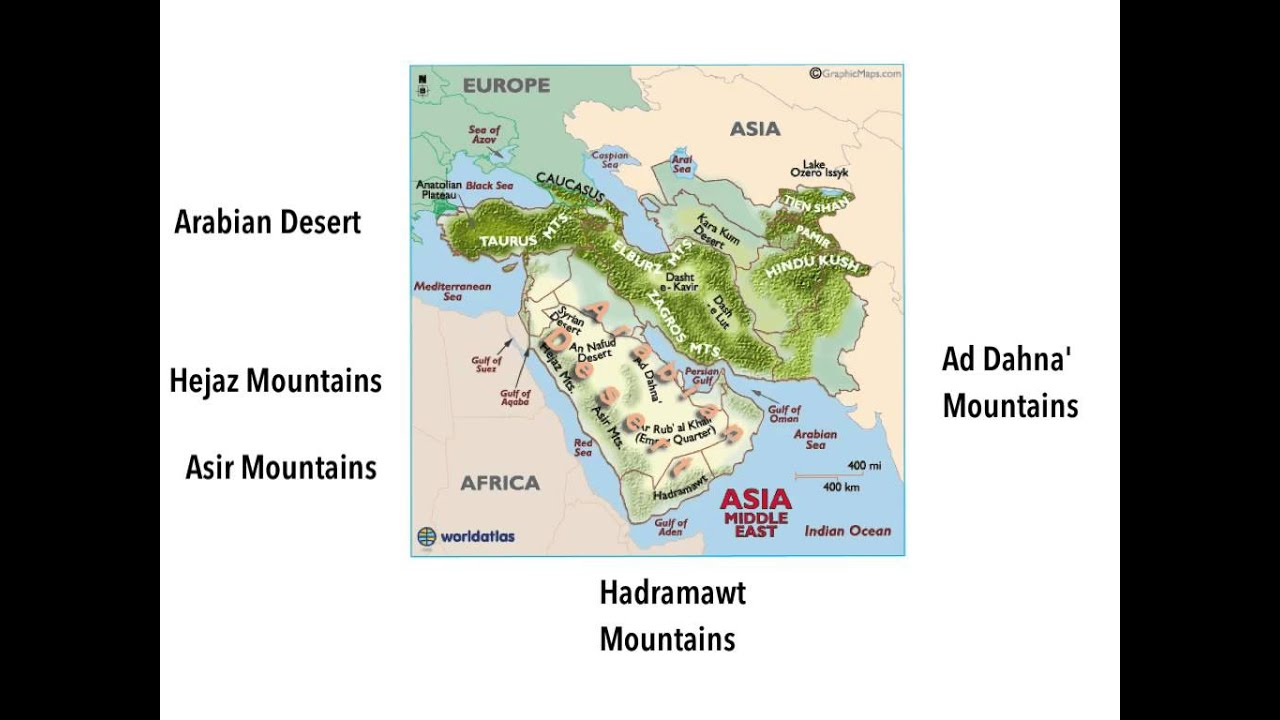 Where are deserts found?
