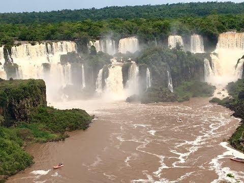 South America - Chile, Argentina, Brrazil & Iguazu Falls