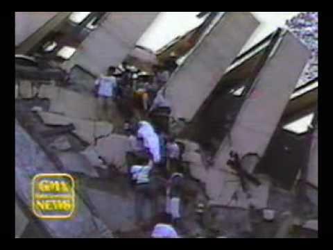 July 1990 Luzon Quake - Baguio