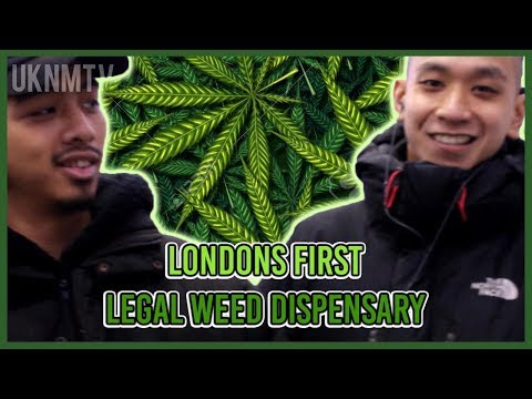 LONDON'S FIRST LEGAL WEED DISPENSARY REVIEW