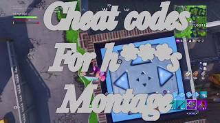 Cheat codes for h**s - Fortnite Montage