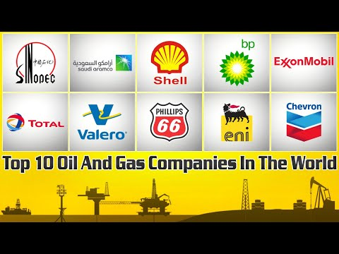 Top 10 Oil And Gas Companies In The World | The World Biggest Oil and Gas Industry