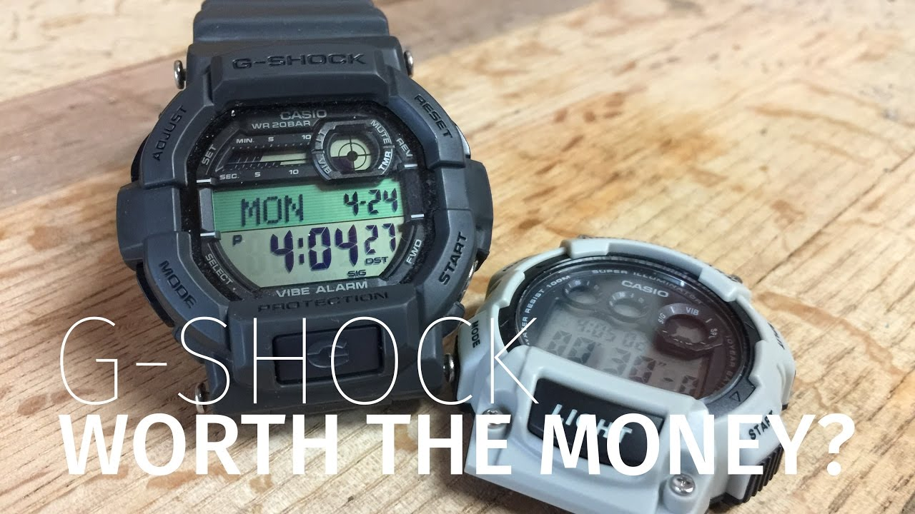 e3fa870602c Side by Side  G-Shock vs Cheap Casio - what s the difference  - YouTube