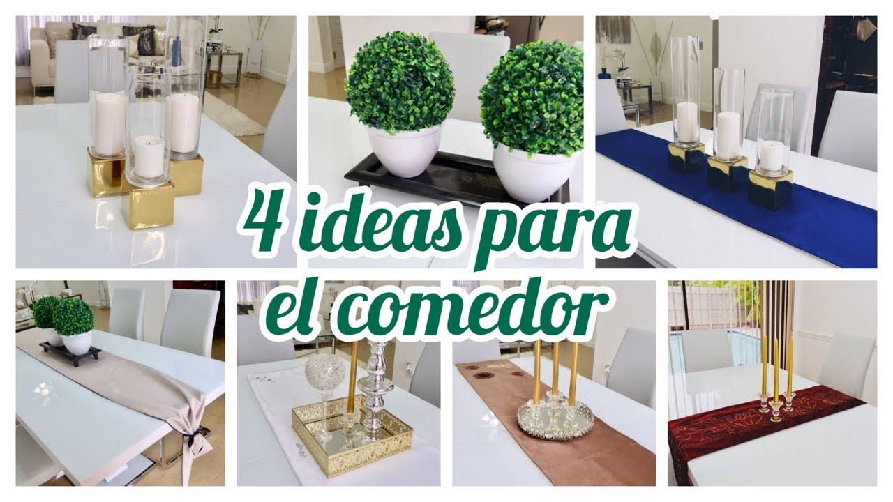 4 ideas para decorar tu comedor 2019 candelabros lujosos for Ideas para decorar mi casa estilo moderno