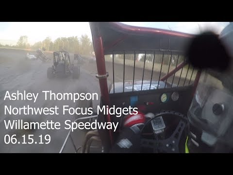 Ashley Thompson NWFM At Willamette Speedway 06.15.19