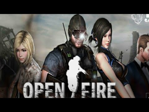 OPEN FIRE FPS GAMEPLAY(Ptbr) PARA MOBILE ANDROID+DOWNLOAD#JOGOFodINHA!