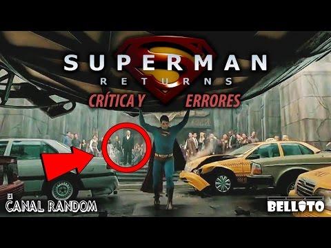 Errores de películas Superman Returns Crítica y Review WTF PQC
