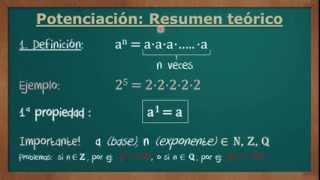 POTENCIAS Y RADICALES. Ejercicio 1 Examen Matemáticas Pruebas Acceso CFGS (Cataluña 2013)