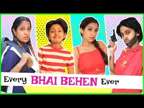 Every BHAI-BEHEN Relation Ever ..   #Siblings #Sketch #Comedy #MyMissAnand #Anaysa #ShrutiArjunAnand