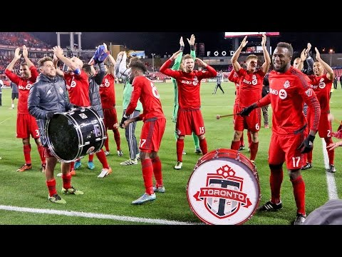 Toronto FC Playoff Celebrations