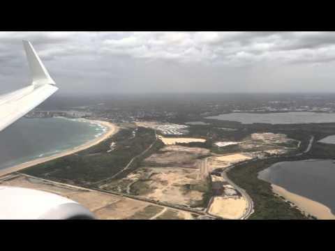 Qantas QF1361 Longreach-Sydney Landing Charity Flight
